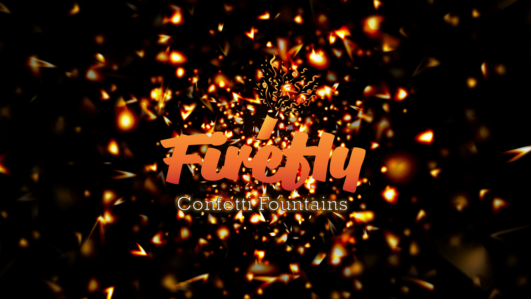 Firefly Confetti Fountains